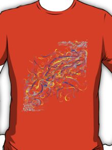 Splash Glass Rattlesnake - Digital Painting T-Shirt