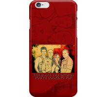 CYLONS & SPOILERS & IPHONES OH MY! iPhone Case/Skin
