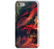 Red Golden Temple iPhone Case/Skin
