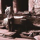 Man Ironing by Giles Freeman