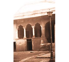 Red Fort Lampshade Photographic Print