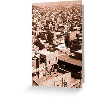 Jodhpur town Greeting Card