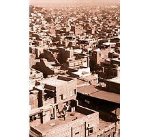 Jodhpur town Photographic Print