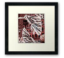 Butterfly Street Framed Print