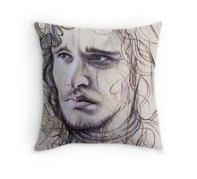 Jon Snow Throw Pillow