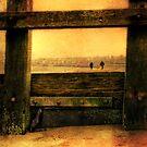 Framed on the Beach by Den McKervey
