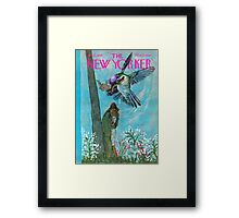 Somewhere only we know, life tends to come and go Framed Print