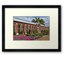 The Linnean House and Surrounding Gardens Framed Print