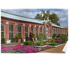 The Linnean House and Surrounding Gardens Poster