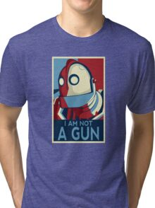 I am not a gun Tri-blend T-Shirt