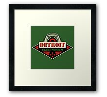 Detroit Electronica Framed Print