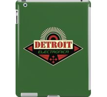 Detroit Electronica iPad Case/Skin