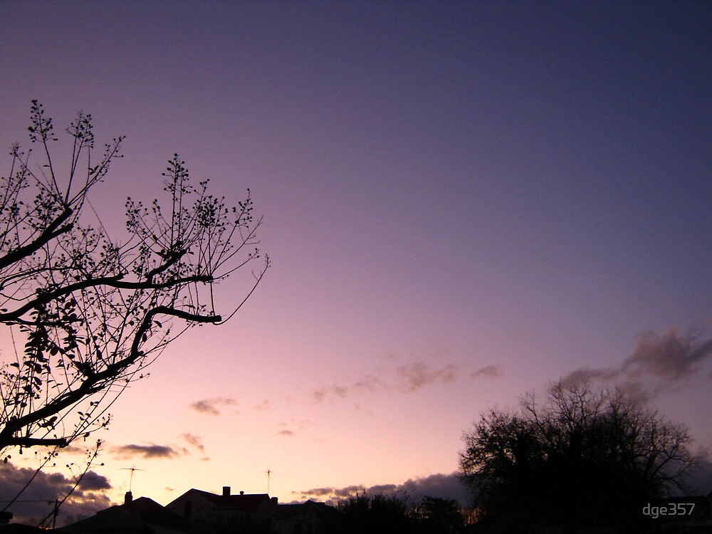 Cold Winter Sky 5 by dge357