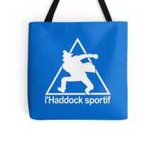 le coque spotif parodie - haddock sportif Tote Bag