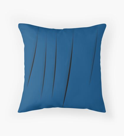 Cuts Throw Pillow