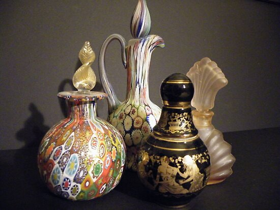 Bottles by joan warburton