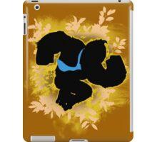 Super Smash Bros. Yellow/Gold Donkey Kong Silhouette iPad Case/Skin