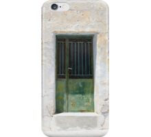 Green Door.. iPhone Case/Skin
