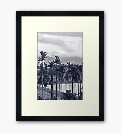 mirror in mirror Framed Print