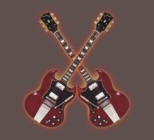 Vintage Gibson SG Kids Clothes