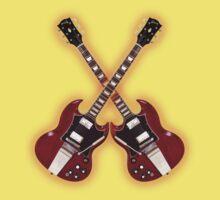 Vintage Gibson SG Kids Tee