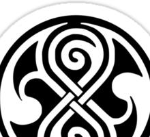 Time Lord University (light) Sticker