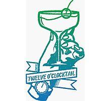 12 o'clocktail! Photographic Print
