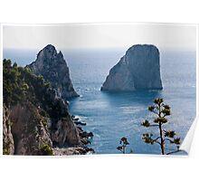 Faraglioni of Capri Poster