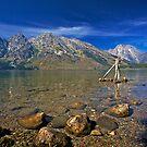 Leigh Lake by Rick Louie