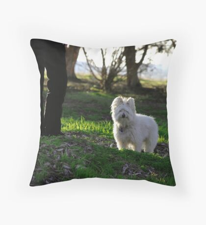 Max and Friend Throw Pillow