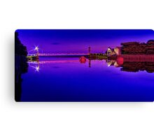 """Artwork On The Erskine"" Canvas Print"