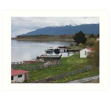 Patagonian Outpost Art Print
