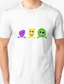 Cute cartoon monsters gang T-Shirt