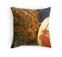 Season of Harvest 5 Throw Pillow
