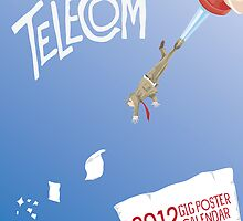 2012 Telecom Poster Art Calendar by telecom