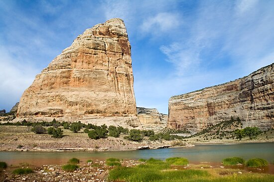 Steamboat Rock by Kim Barton