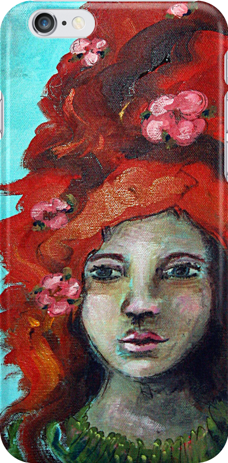 In Spring There Are Blossoms iPhone Case by Denice Taylor Rinks
