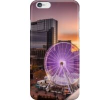 Birmingham Wheel at Christmas iPhone Case/Skin