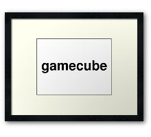 gamecube Framed Print