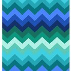 Mountains of Chevron by Simone Pullar-Wells