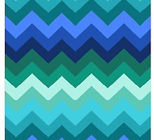 Mountains of Chevron by Simplastic