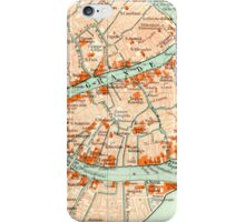 Venice Vintage Map iphone Case iPhone Case/Skin