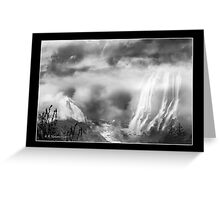 Land of Mists Greeting Card