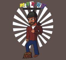Manny the Sad Lumberjack Tee Kids Clothes