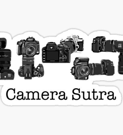 Camera Sutra Sticker