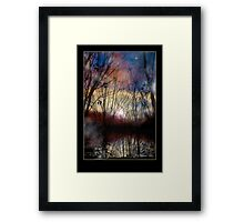 Fey Sunset Framed Print
