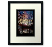 Fey Sunset Framed Print
