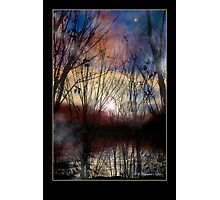 Fey Sunset Photographic Print