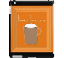 Pumpkin Spice Latte iPad Case/Skin