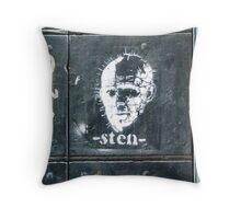 Rome - A Sten stencil Throw Pillow